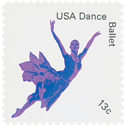 1978 13c American Dance: Ballet