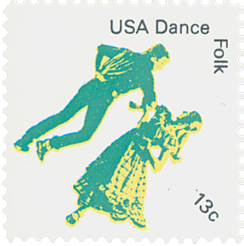 1978 13c American Dance: Folk