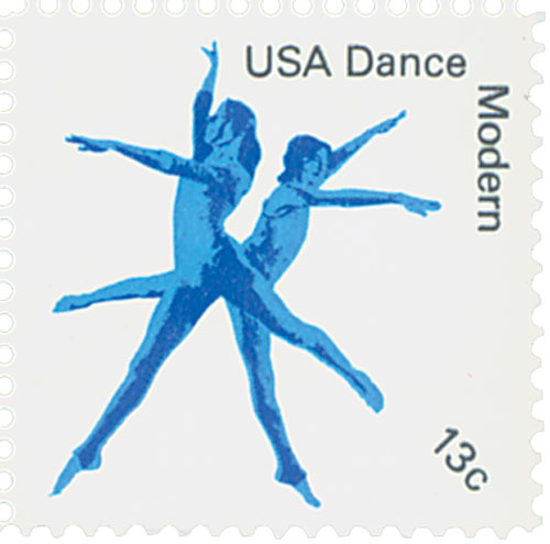 1978 13c American Dance: Modern