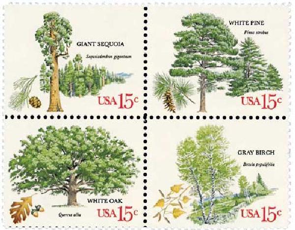 1978 15c American Trees