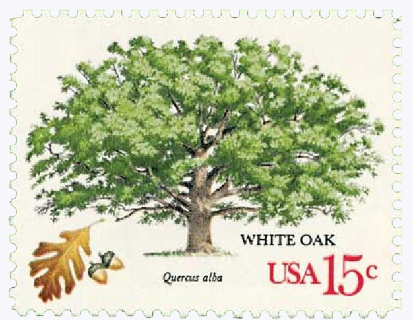1978 15c American Trees: White Oak