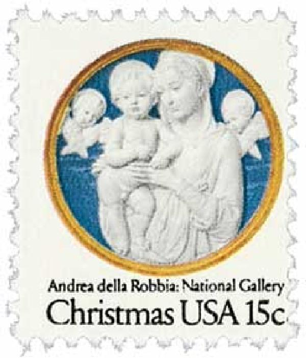 1978 15c Christmas Madonna and Child