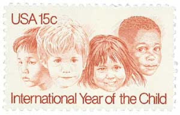 1979 15c International Year of the Child