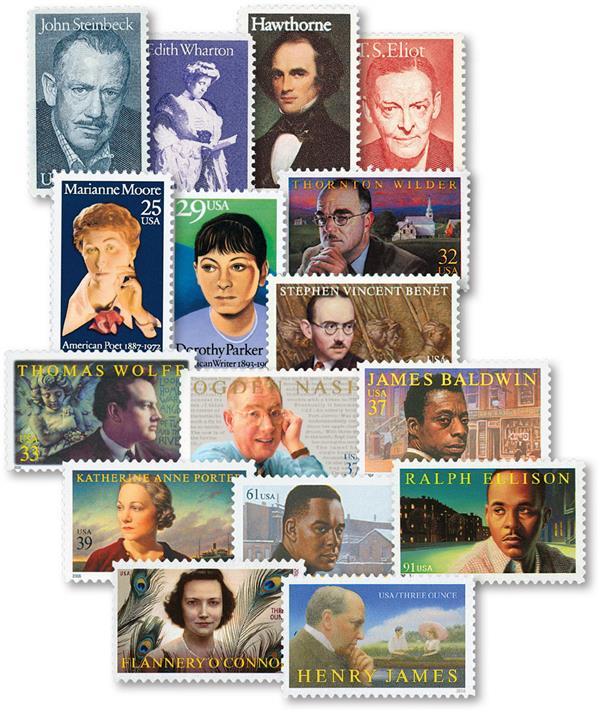 1979-2016 Literary Art Series set of 31 stamps