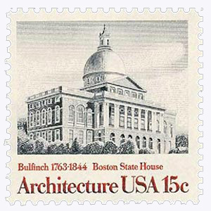 1979 15c American Architecture: Boston State House