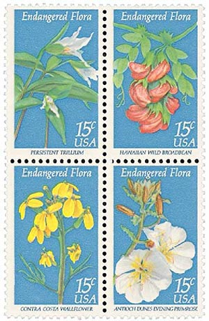 1979 15c Endangered Flora