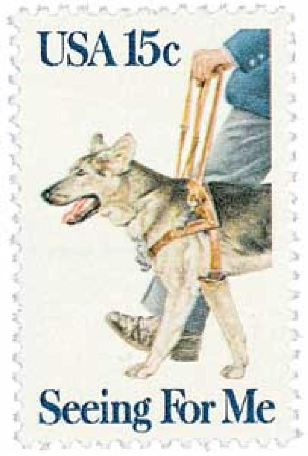 1979 15c Seeing Eye Dogs