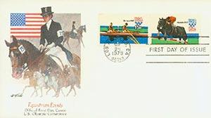 1979 15C Rowing/Equestrian