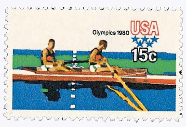 1979 15c Summer Olympics: Rowers