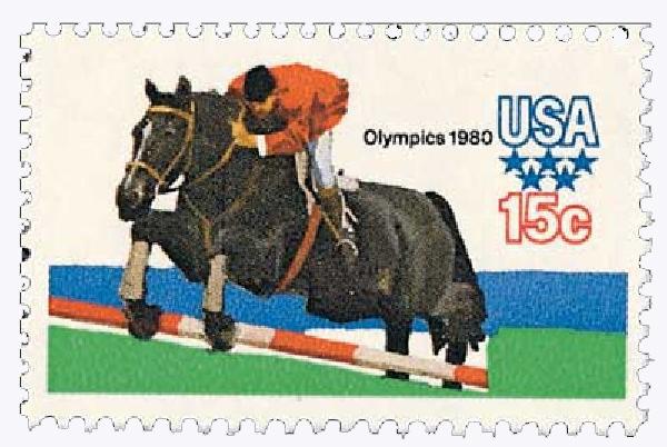 1979 15c Summer Olympics: Equestrian