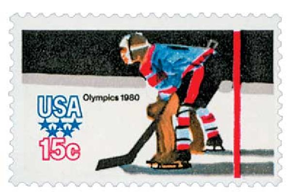 1980 15c Winter Olympics: Hockey