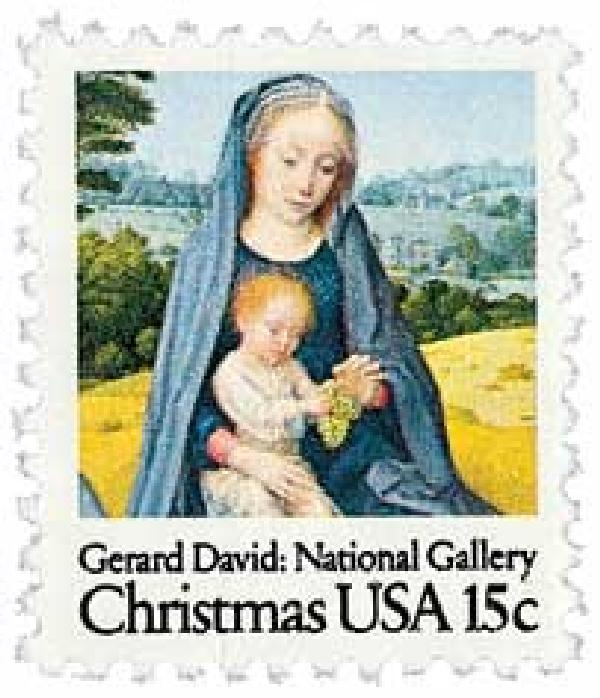 1979 15c Christmas Virgin and Child