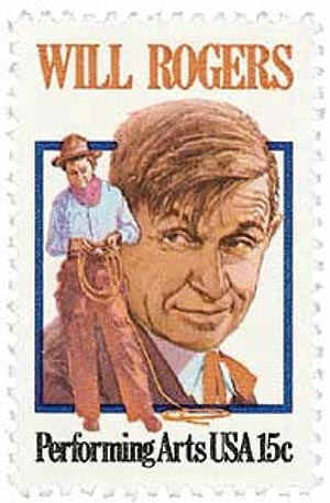 1979 15c Performing Arts: Will Rogers