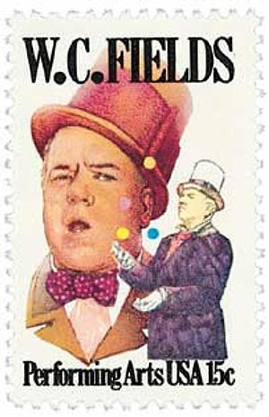 1980 15c Performing Arts: W. C. Fields
