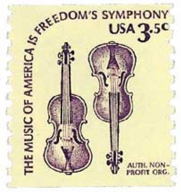 1980 3.5c Violins Perf 10V coil