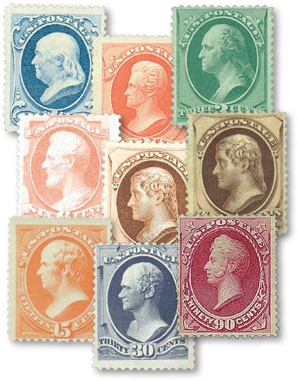 Complete Set, 1879 American Bank Note Printing