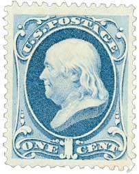 1879 1c Franklin