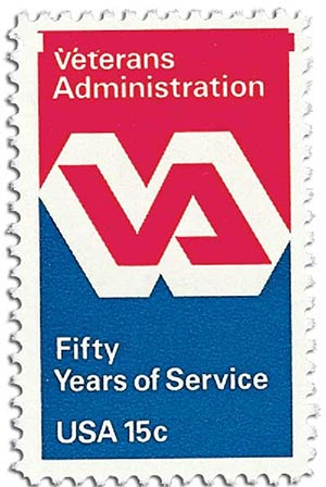 1980 15c Veterans Administration