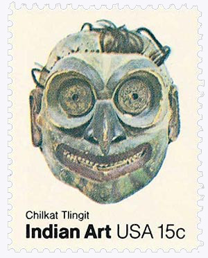 1980 15c Pacific Northwest Indian Masks: Chilkat Tlingit
