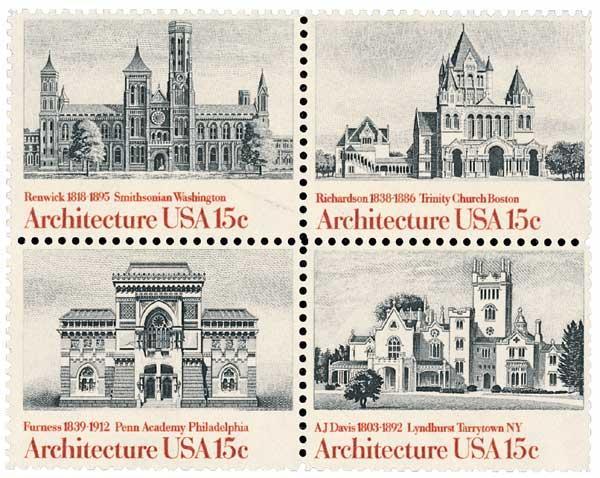 1980 15c American Architecture