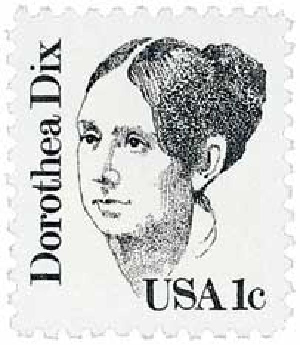 1983 Dorothea Dix stamp