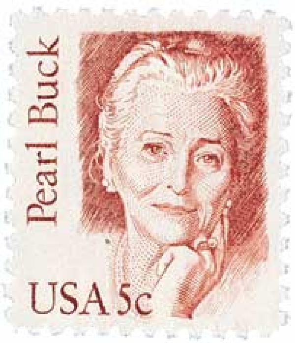 1983 5c Great Americans: Pearl Buck
