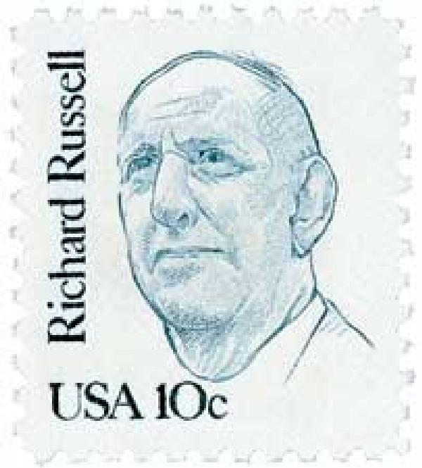 1984 10c Great Americans: Richard Russell