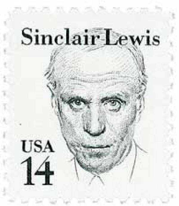 1985 14c Great Americans: Sinclair Lewis