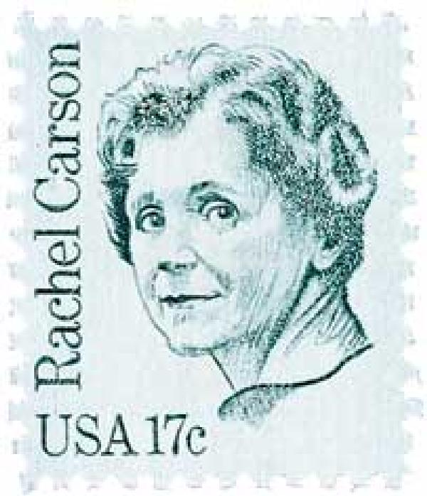 1981 17c Rachel Carson