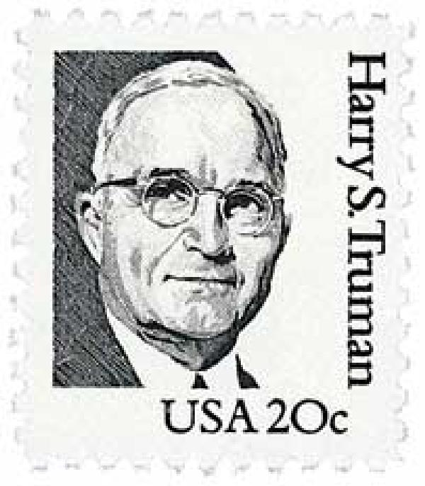 1984 20c Great Americans: Harry S. Truman