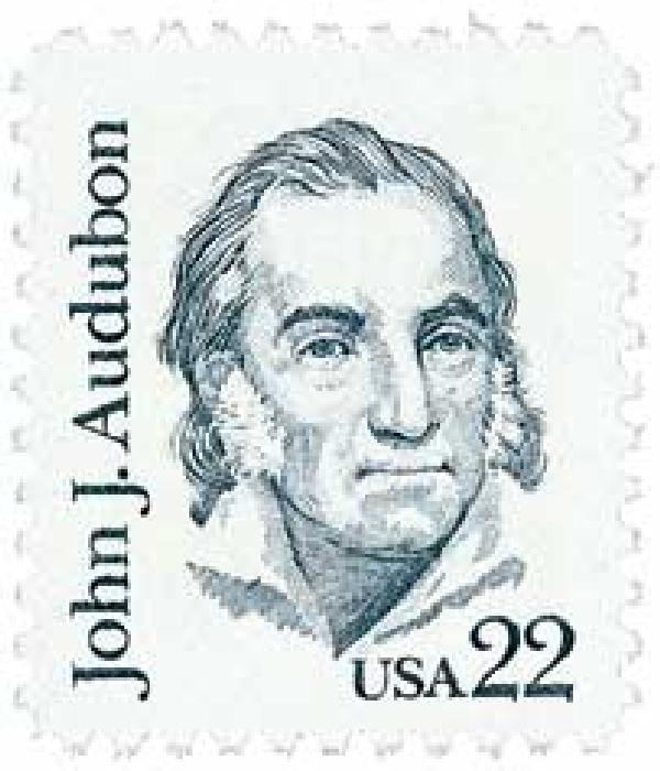 1985 22c Great Americans: John J. Audubon