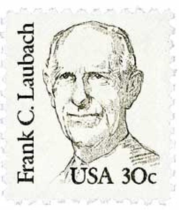 1984 30c Great Americans: Frank C. Laubach