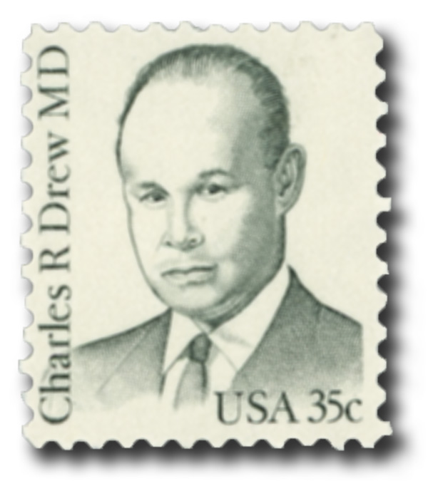 1981 35c Great Americans: Charles R. Drew, M.D.