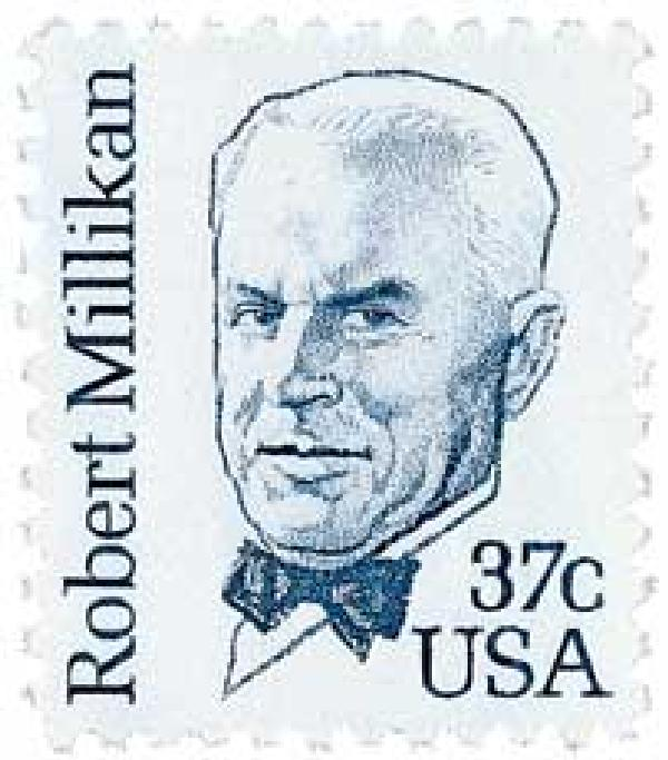 1982 37c Great Americans: Robert Millikan