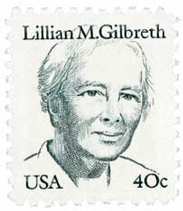 1984 40c Great Americans: Lillian M. Gilbreth