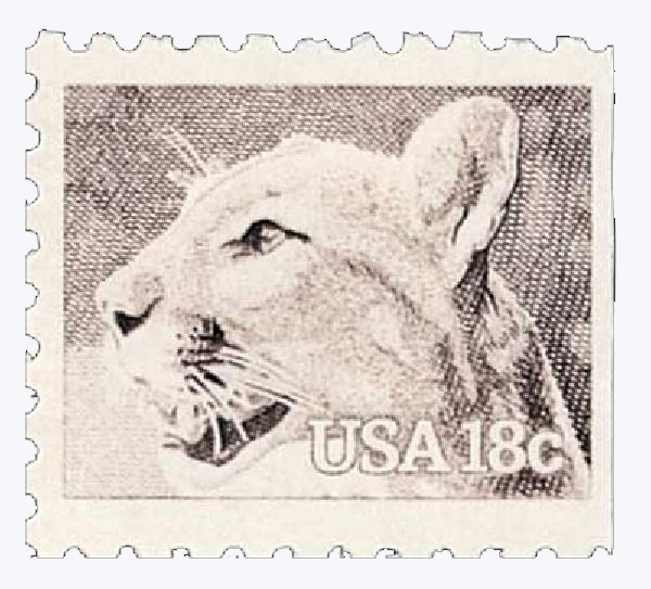 1981 Regular Issue Wildlife 18c
