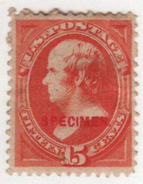 1879 15c red orange
