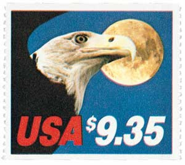 1983 $9.35 Eagle and Moon, booklet single
