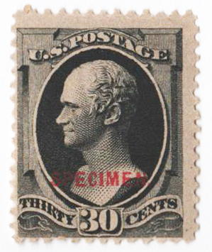 1879 30c full black