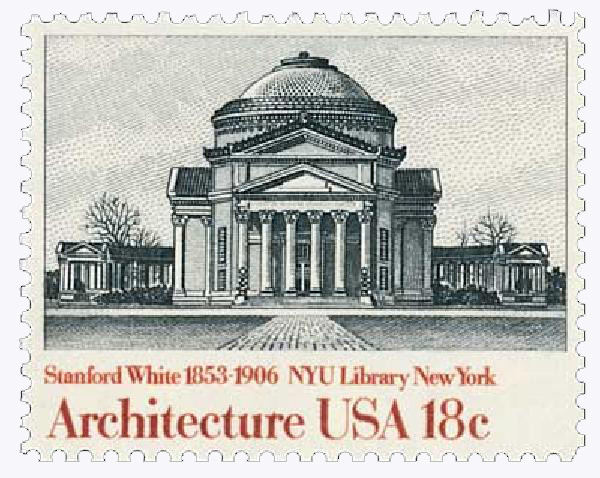 1981 18c American Architecture: NYU Library