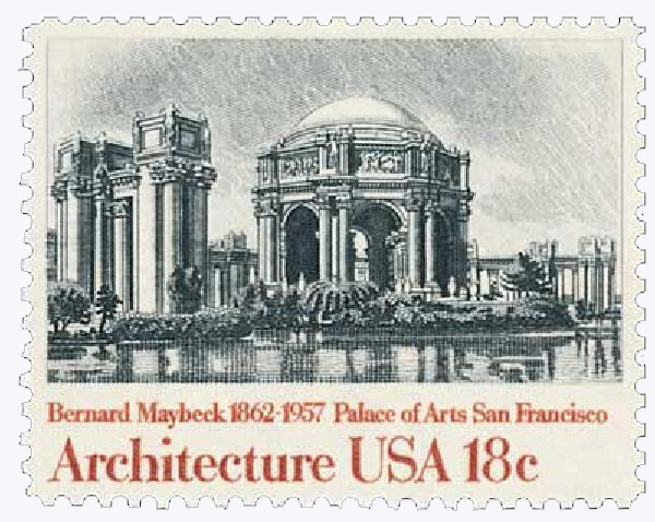1981 18c American Architecture: Palace of Arts