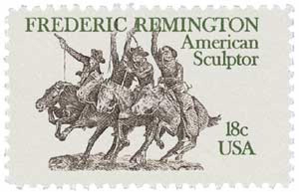 1981 18c Frederic Remington