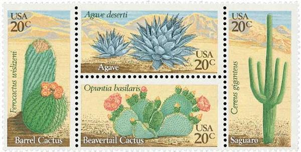 1981 20c Desert Plants