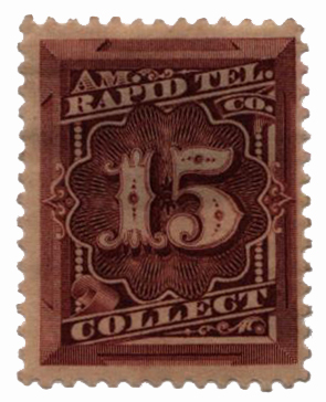 1881 15c red brown