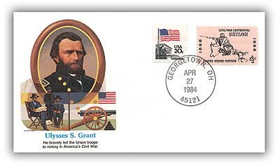 1984 Ulysses S Grant Commemorative Cover