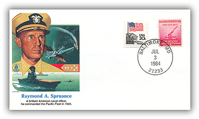 1984 Raymond Spruance Commemorative Cover