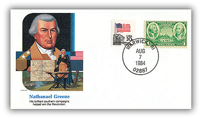 1984 Nathaniel Greene Commemorative Cover