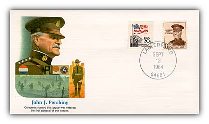 1984 John Pershing Commemorative Cover