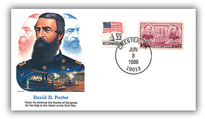 1986 David Porter Commemorative Cover