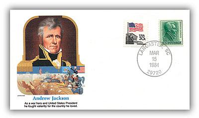 1984 Andrew Jackson Commemorative Cover